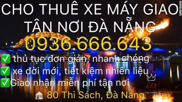 Cho thuê xe máy Sáu Ly Đà Nẵng