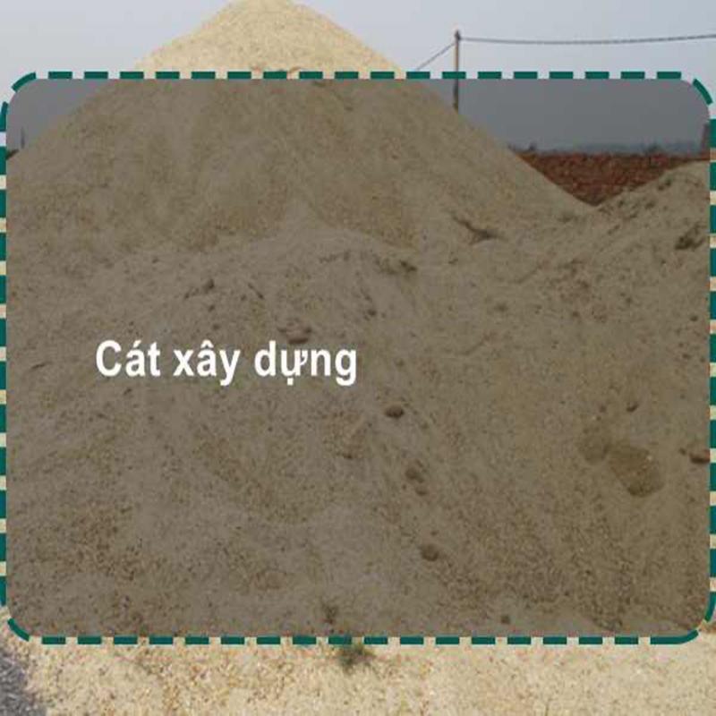 Giá cát xây dựng vận chuyển trọn gói
