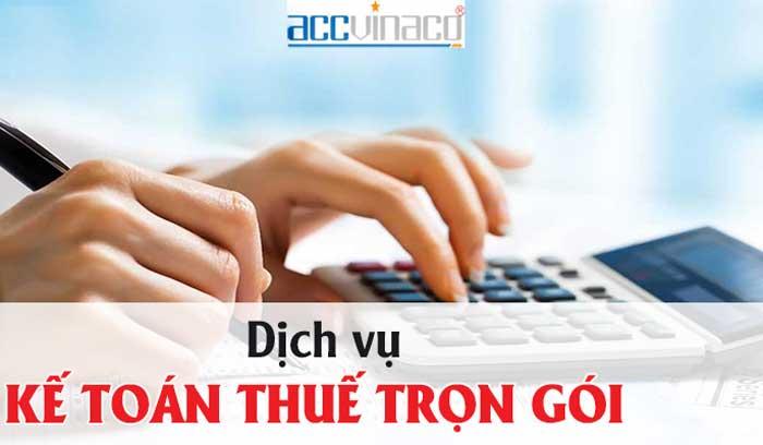 Bảng báo giá Dịch vụ kế toán trọn gói Quận Bình Thạnh